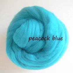 Felting Wool, Merino Wool, Wool Tops Jade Green, Wet Felting